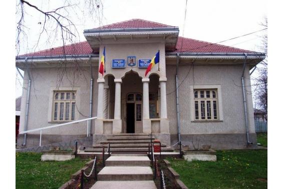 Fostul sediul Primariei Comunei Grumăzești